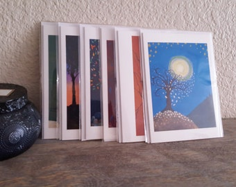 Greeting Card Set - Blank Inside