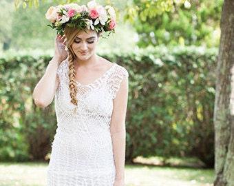 Crochet Wedding dress PATTERN ONLY, crochet pattern