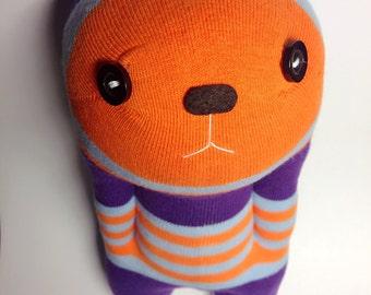 Handmade sock wrist rest, lovely sock doll
