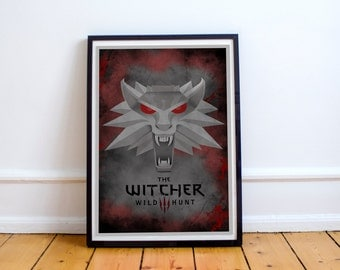 The Witcher 3 Wild Hunt Print Poster