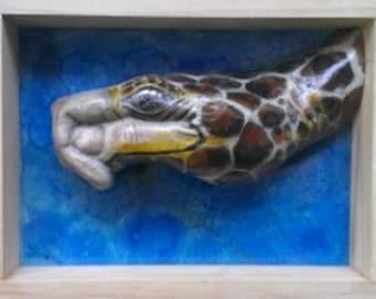 Turtle hand animal