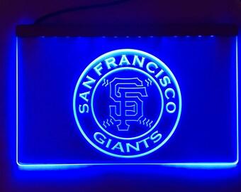 San Francisco Giants, Giants, Giants Sign, San Fran, MLB, Giants Light, San Francisco,