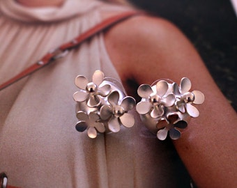 Elegant Flower silver