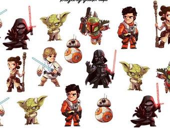 Star Wars Planner Stickers