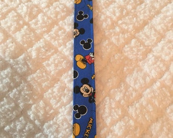 Mickey Mouse Baby Pacifier Clip