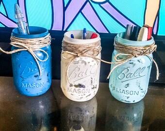Rustic mason jars
