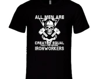 Ironworker T-shirt. Ironworker tshirt for him or her. Ironworker tee as a Ironworker idea gift. Great Ironworker gift with Ironworker tshirt