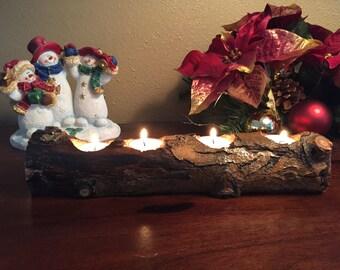 Aspen Tea Light Centerpiece