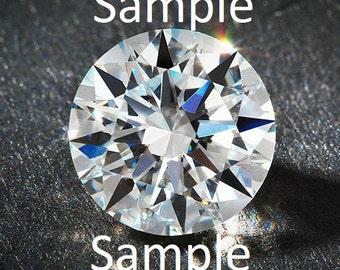0.48ct Natural Round Brilliant Diamond