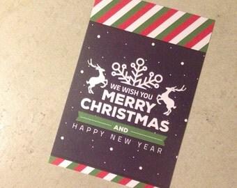 Card • merry christmas