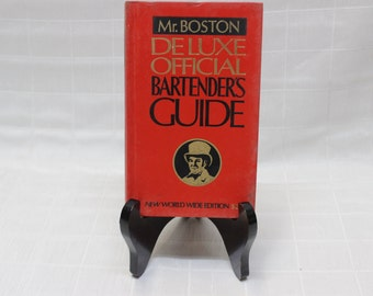 Mr. Boston: Deluxe Official Bartender's Guide | New World Wide Edition, 1978 Publication