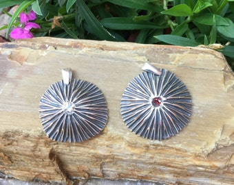 Starburst Pendant (.999 Fine Silver)