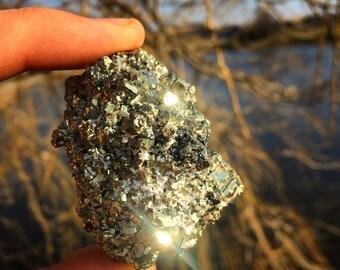 Pyrite power chunk