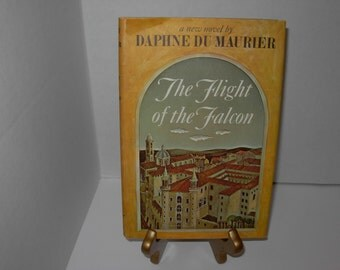 The Flight of the Falcon, Daphne Du Maurier, Hardcover Book Dust Jacket, BCE, Free Shipping