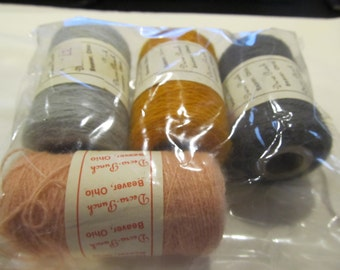 4  New Assorted Punch Needle Embroidery Thread