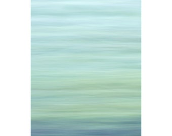 Abstract Photography PRINT, Ocean and Sky, Wall Art