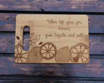 Cutting Board - When Life Gives You Lemons