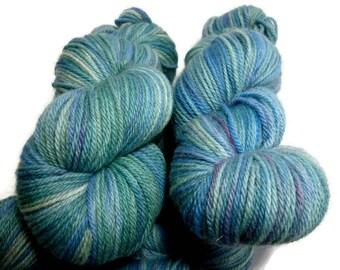 Kaleidoscope - DK double knit yarn, Possum/Merino blend, 100gm = 200m/219yards - Ready to Ship