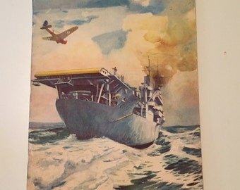 1941 Newport News Shipbuilding and Drydock Company for National Defense Book