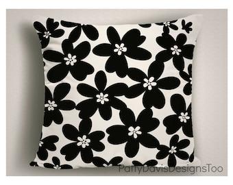 Throw Pillows with Modern Design, Black Decorative Pillows, Modern Pillow Covers