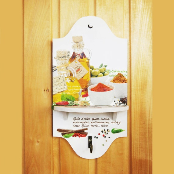 Wooden Kitchen Shelf Gift For Mom Small Shelf With By