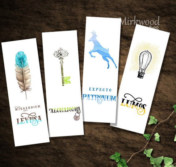 Agile image regarding harry potter printable bookmark