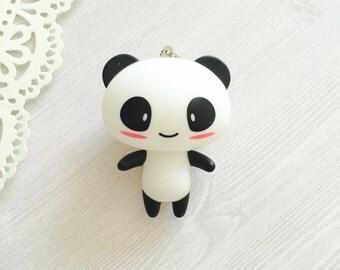 Kawaii Panda Charm Keychain