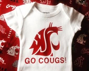 WSU Cougar Baby Onesie