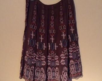 Vintage 70s hippie skirt