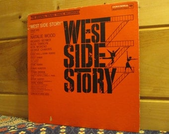West Side Story - The Original Soundtrack Recording - 33 1/3 Vinyl Record
