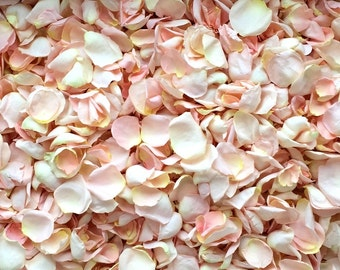 Freeze Dried Rose Petals, Blush, 50 cups of REAL rose petals, perfectly preserved