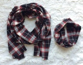 Mommy and Me scarves, fringe blanket scarf, matching, mommy and me, fall scarves