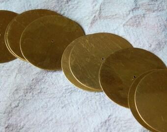 Metal Sequins, 38mm Sequins, Metal Beads, Gold Sequins