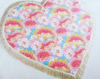 Lotus flower shaped baby play mat
