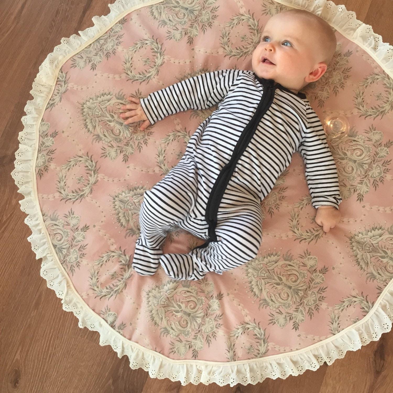 Nursery Rug Large: Large 1m Baby Play Mat Nursery Rug Kids Room Decor Tummy Time