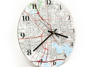 Personalized Map Clock - USGS