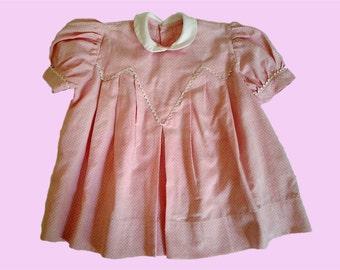 dress baby vintage 50s
