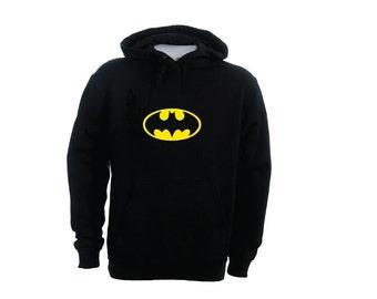 BATMAN super kid super hero customize your toddler hoodie or sweatshirt  2t 4t 5/6t you pick cute christmas gift S003