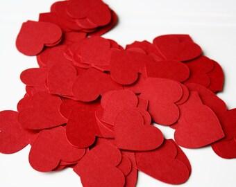 Heart Confetti-- Hearts-- Valentine's Day Confetti-- Table Decorations