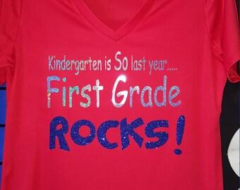 Teacher shirts, Teacher tshirt, Grade level shirt, Kindergarten shirt,