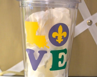Louisiana Love Tumbler