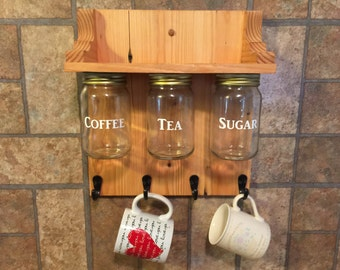 Coffee cup hanger/ organizer