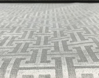 Slate Worchest Slate labyrinth Richloom Fabric Backing included By the yard Multipurpose