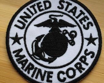 Marine corps bulldog | Etsy