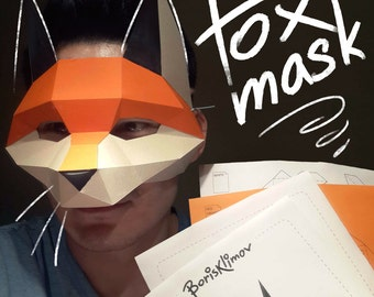 Fox mask DIY scheme