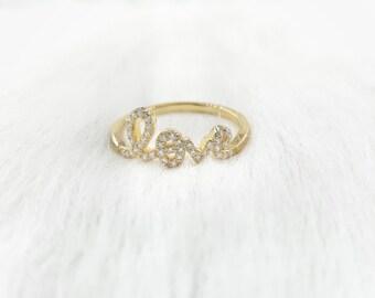 Lovely Gold Ring