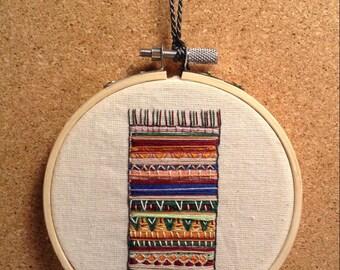 Hand Stitched Little Carpet