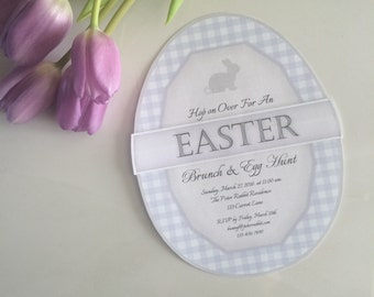 Easter Invitation, Instant Download, Editable Digital File!
