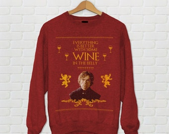 Game of Thrones - Wine - Tyrion Ugly Christmas Sweater