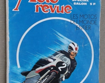 Motorcycle review Special show, October 5, 1968 / Moto Revue number 1900 / review motorcycle French vintage